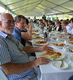 Celebrations following the SA prawn fishery's international certification for sustainability