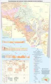 Palaeochannels map