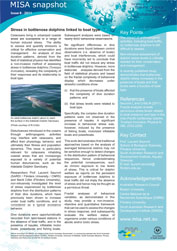 Issue 8 - stress in bottlenose dolphins linked to boat type