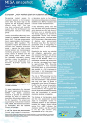 Thumbnail of issue 7 - 2010 EU open to Australian abalone